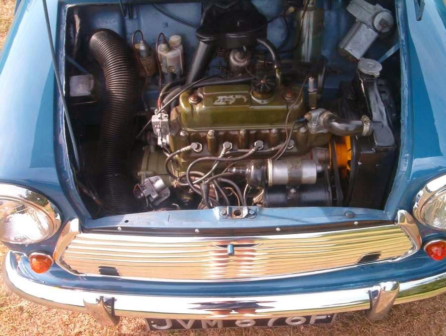 1968 Morris Mini Countryman Traveller Picture Car Rental